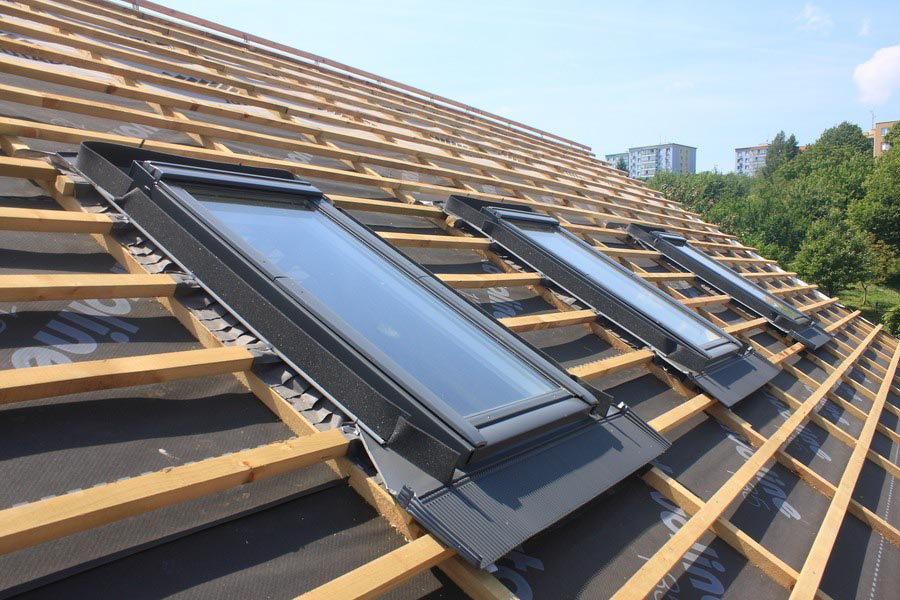 Charpente fenêtres de toit